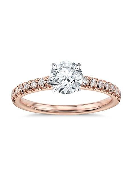 GruL dHnEjM - Обручальные кольца с бриллиантами круглой огранки (60 фото)