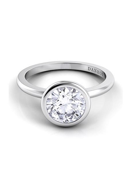 hLHcLSt2ZXA - Обручальные кольца с бриллиантами круглой огранки (60 фото)
