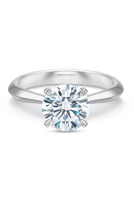 jGN4sROaWSE - Обручальные кольца с бриллиантами круглой огранки (60 фото)