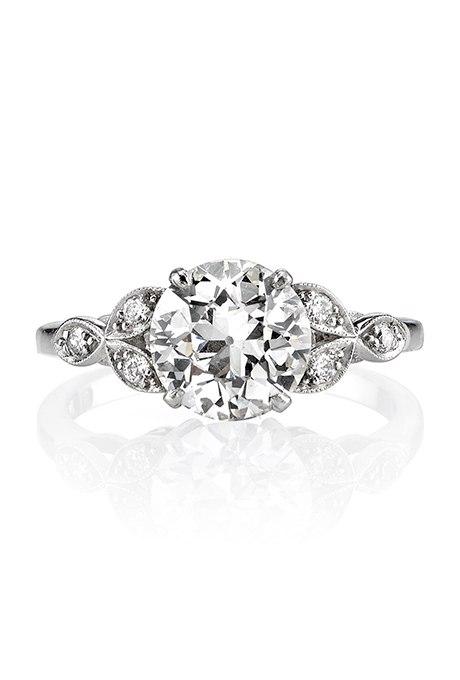 Lx1Tb0uWnh0 - Обручальные кольца с бриллиантами круглой огранки (60 фото)