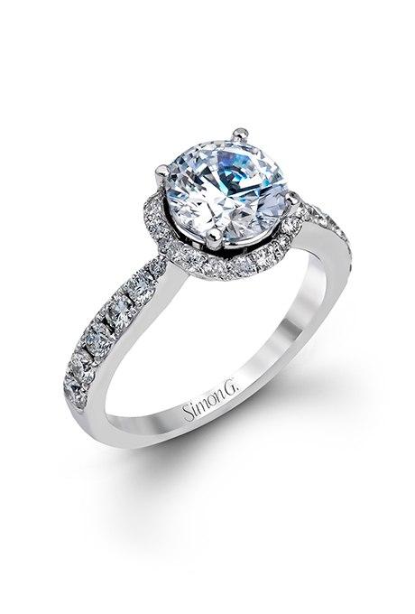 CYqILid0 zY - Обручальные кольца с бриллиантами круглой огранки (60 фото)