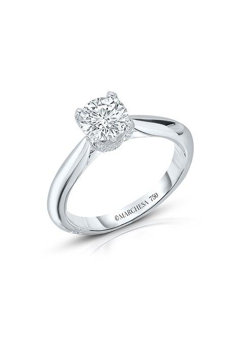 f9JBzJnC2 k - Обручальные кольца с бриллиантами круглой огранки (60 фото)