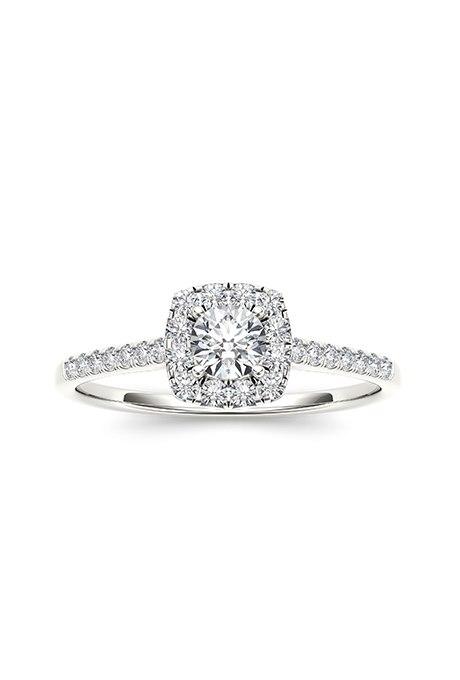 1ioEyfnQlpo - Обручальные кольца с бриллиантами круглой огранки (60 фото)