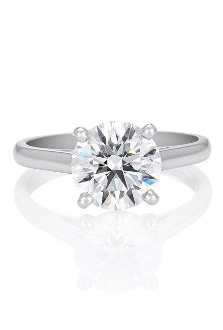 cq9hxdyScME - Обручальные кольца с бриллиантами круглой огранки (60 фото)