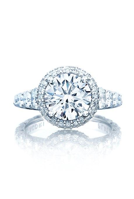 7pZd ZLDG 8 - Обручальные кольца с бриллиантами круглой огранки (60 фото)