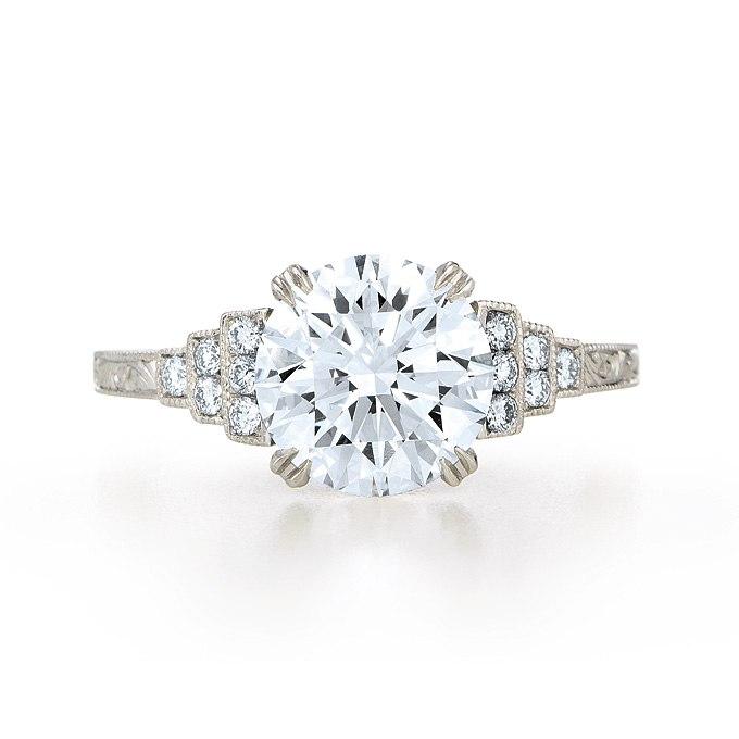 1n05HmIG kk - Обручальные кольца с бриллиантами круглой огранки (60 фото)