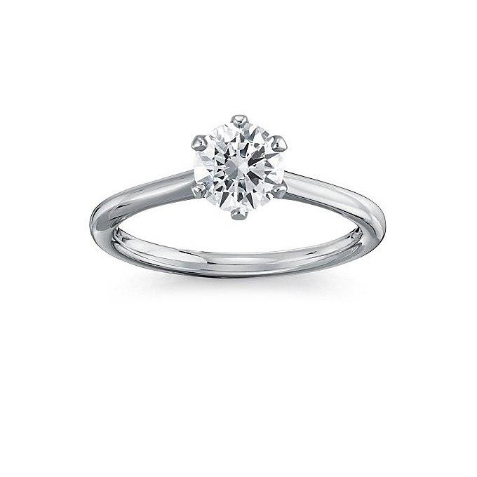 PI2vigoRS4M - Обручальные кольца с бриллиантами круглой огранки (60 фото)