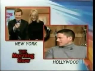 The Morning Show com Wentworth Miller e Sarah Wayne Callies - [Legendado by WM Brasil]