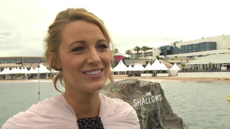 Cannes2016 Интервью Блейк Лайвли на фотоколле фильма