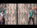 Nastroenie+ Волейболисты играют в баскетбол