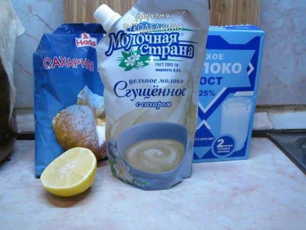 Мастика из сгущенки и сухого молока рецепт пошагово