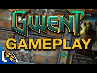 Gwent: The Witcher 3 Card Game Gameplay