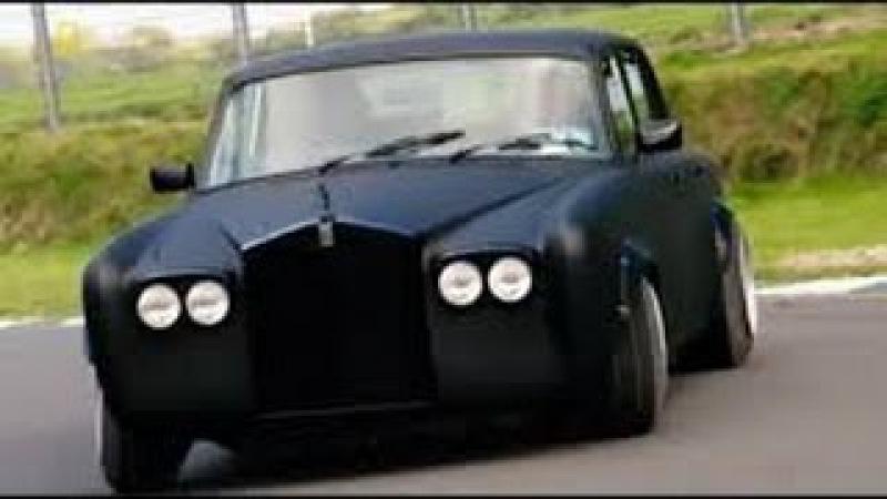 Настоящий суперкар Rolls Royce Silver Shadow 2 Supercar Megabuild HD
