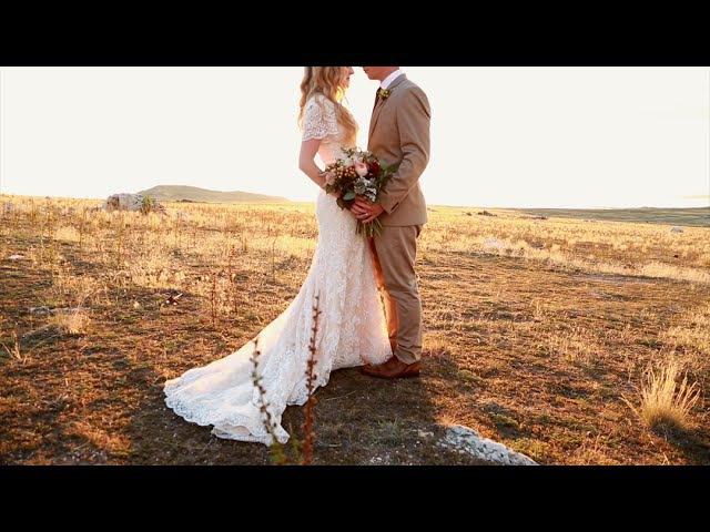 Gorgeous Boho Wedding Video (Utah Wedding Videographer)