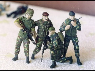 Войска из картонной коробки