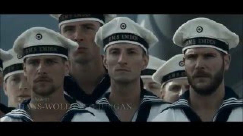 Немецкий бронепалубный крейсер «Эмден» и его команда в х/ф Die Männer der Emden