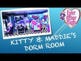 HOW TO MAKE A DORM ROOM FOR MADELINE HATTER AND KITTY CHESHIRE [EVER AFTER HIGH]