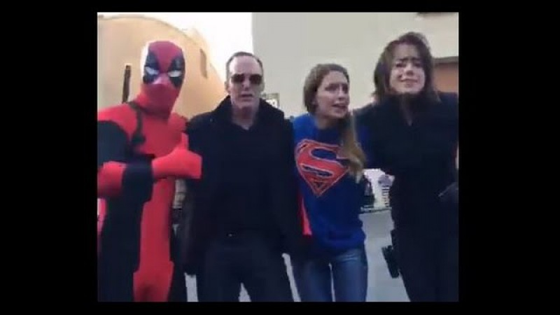 DUBSMASH WARS FOR CHARITY Supergirl Agents of S.H.I.E.L.D and more