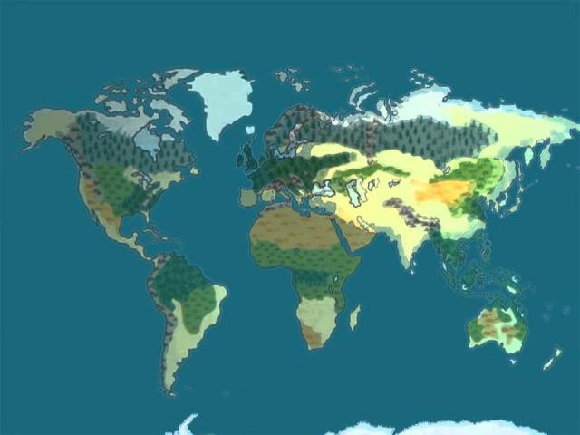 Презентация для детей по Доману Карта мира