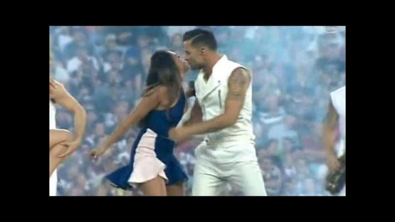 Ricky Martin with Jessica Mauboy - Live in Australia - NRL Grand Final 2013