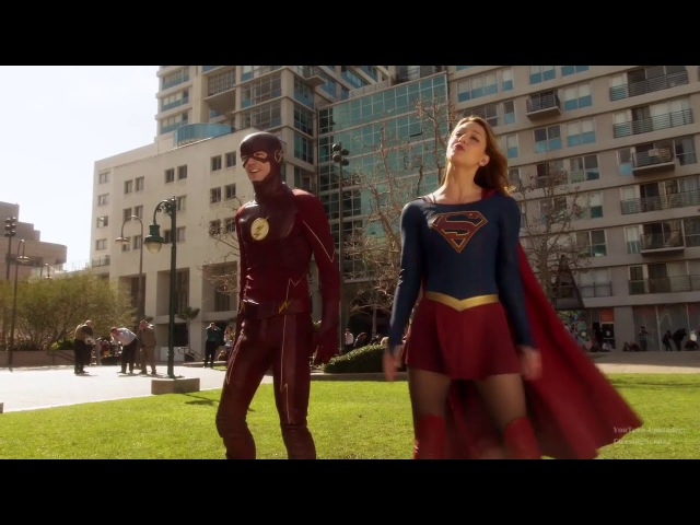 Supergirl 1x18: Barry and Kara 10 [Supergirl x The Flash Crossover]