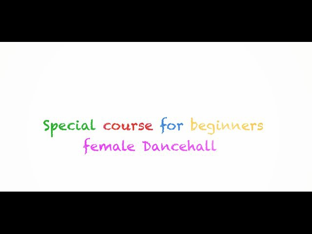 Razor B - Hot Up(Clean) - Female Dancehall - 1 month course for beginners