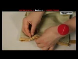 Полезное видео, как сшить шторы своими руками