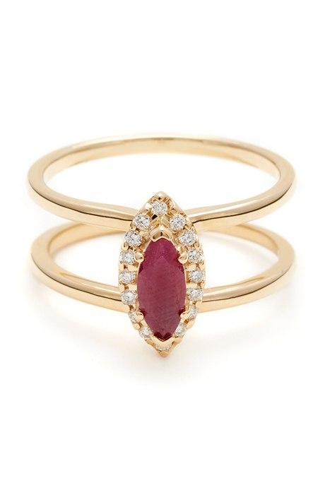 9L1jFagio3Q - Обручальные рубиновые кольца (25 фото)