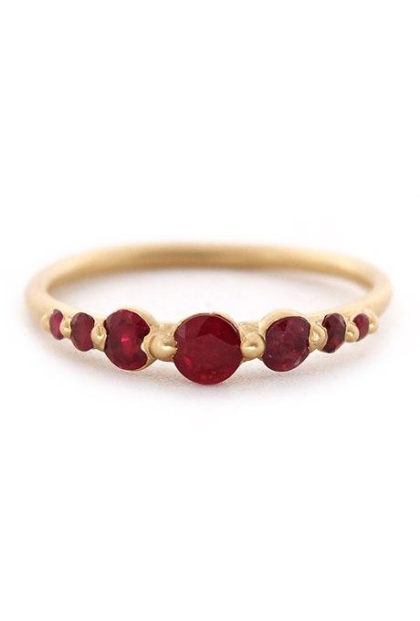 VIbJ ji7IYk - Обручальные рубиновые кольца (25 фото)