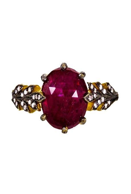 meuy 4xUwXY - Обручальные рубиновые кольца (25 фото)