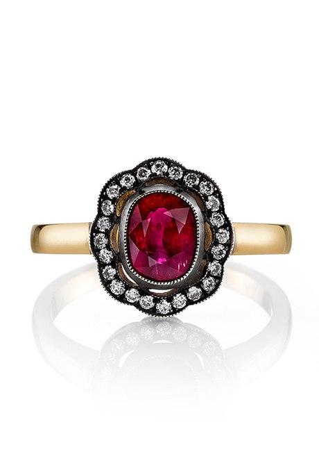 rEIT1Mj33pE - Обручальные рубиновые кольца (25 фото)