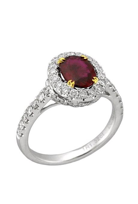 iWNoBpDR nM - Обручальные рубиновые кольца (25 фото)