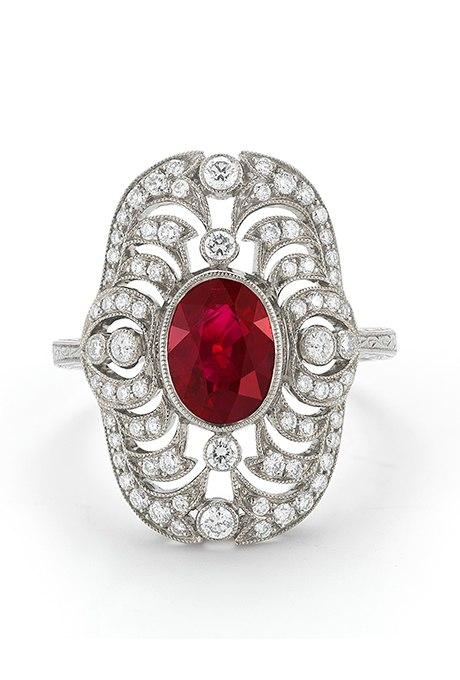 wMavM rvNoY - Обручальные рубиновые кольца (25 фото)