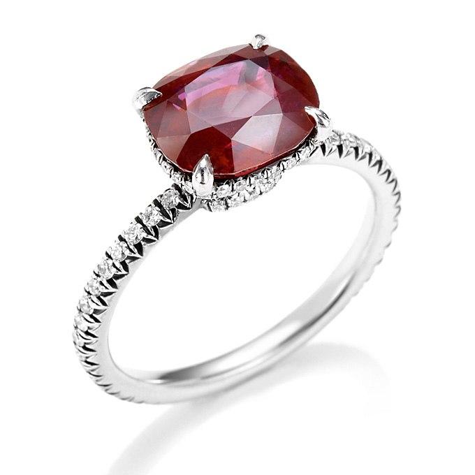 ptfy7 9 qEc - Обручальные рубиновые кольца (25 фото)