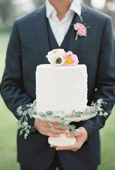 tWaXDSgbFs - 44 Свадебных торта, украшенных цветами