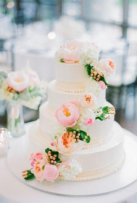 FgGJc5CI9Fk - 44 Свадебных торта, украшенных цветами