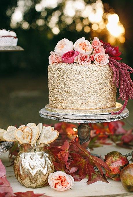 12jF71s1gx4 - 44 Свадебных торта, украшенных цветами