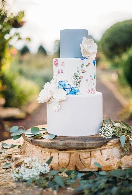 uHIFt7u6QoE - 44 Свадебных торта, украшенных цветами