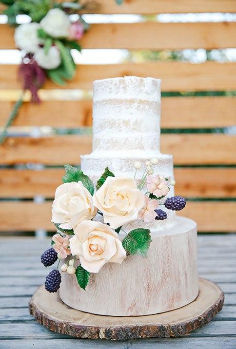 scEZdaAu9Bs - 44 Свадебных торта, украшенных цветами