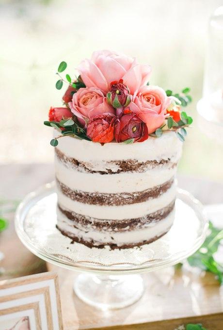 2pKiElsQG4s - 44 Свадебных торта, украшенных цветами