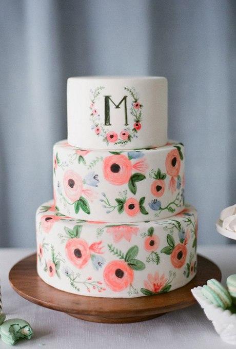 OdEDMiOD3HM - 44 Свадебных торта, украшенных цветами