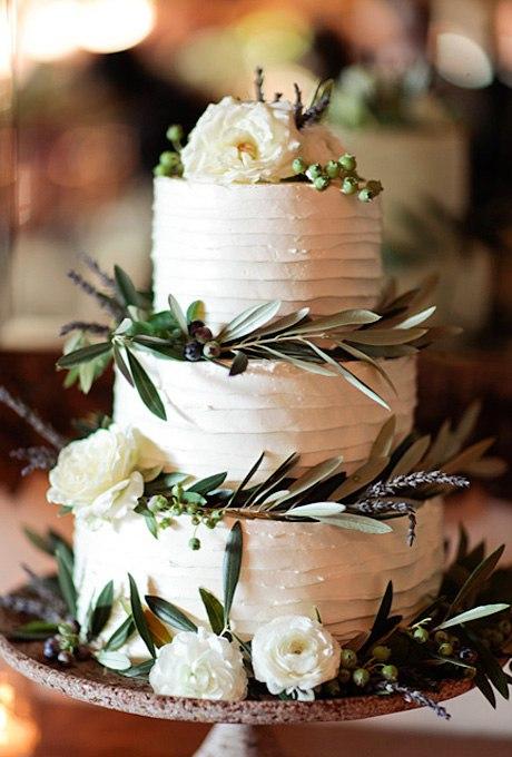 qPyUpqJuwoU - 44 Свадебных торта, украшенных цветами