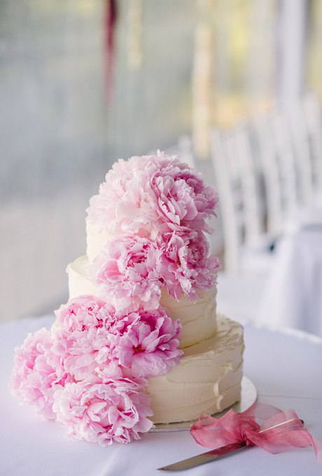 HGyxm9av4Tc - 44 Свадебных торта, украшенных цветами