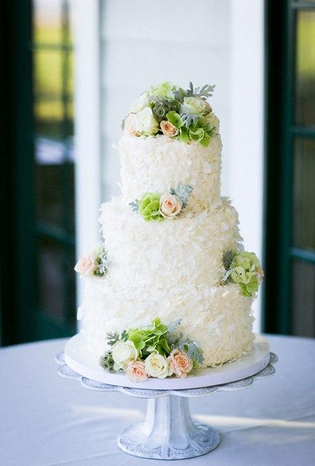 Q6wBxGYEV2E - 44 Свадебных торта, украшенных цветами