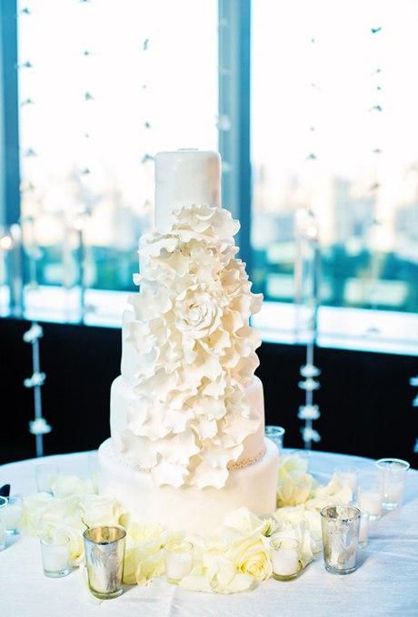 IMwy886hdGg - 44 Свадебных торта, украшенных цветами