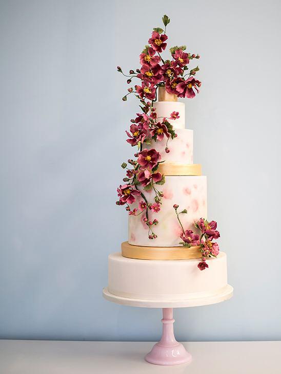 m0sh2TH547k - 28 Гламурных свадебных тортов