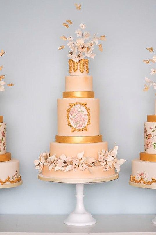 BeJGfkmC2tc - 28 Гламурных свадебных тортов