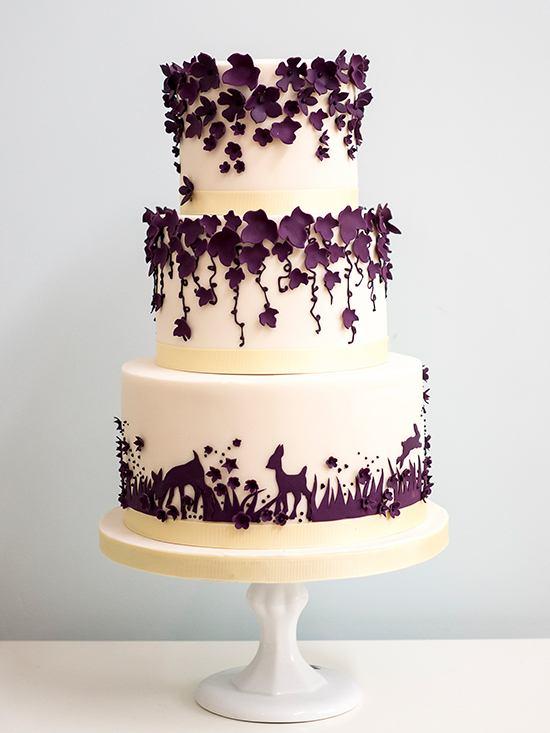eusJVrztJTw - 28 Гламурных свадебных тортов