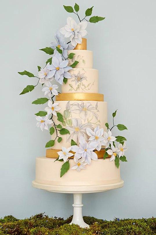TNVDCm9V92c - 28 Гламурных свадебных тортов