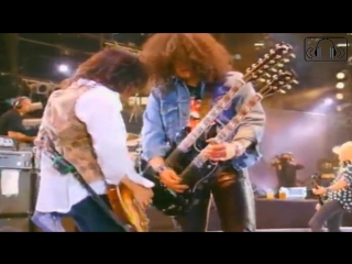 Guns N' Roses - Knockin' On Heaven's Door [Live Wembley] Subtitulado Español e Inglés HD